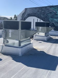 New Commercial Packet Units Installed